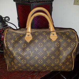 Louis Vuitton Speedy Rare French Co. 35 bag